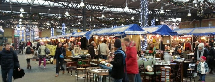 Old Spitalfields Market is one of Where to go in London.