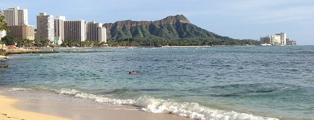 Halekulani Beach is one of hawai best.