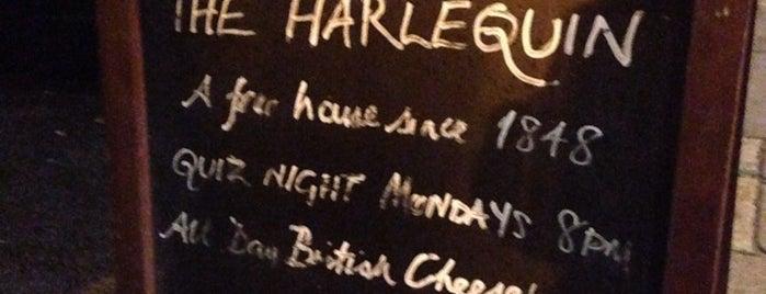 The Harlequin Pub is one of À faire à Londres.