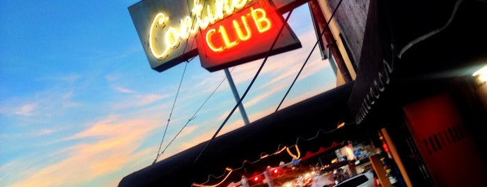 The Continental Club is one of Pearson's Picks for #SXSW 2014.