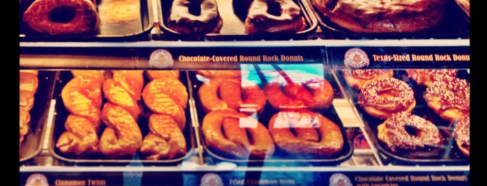 Round Rock Donuts is one of places to try.