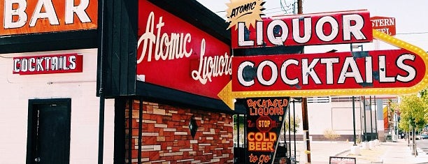 Atomic Liquors is one of out of town: las vegas.