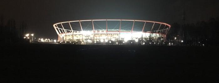 Stadion Śląski w Chorzowie is one of สถานที่ที่ Lewando ถูกใจ.