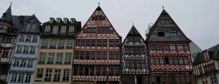 Römerberg is one of Posti che sono piaciuti a Kate.
