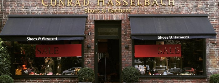 Conrad Hasselbach Shoes & Garment is one of Best of Hamburg.