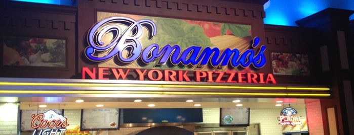 Bonanno's New York Pizzaria is one of One Bite, Everybody Knows The Rules 3.