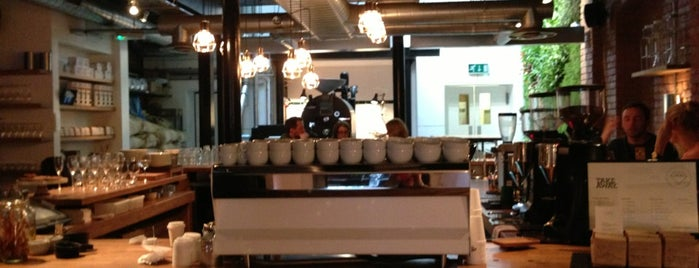 Workshop Coffee Co. is one of Quintessential London.