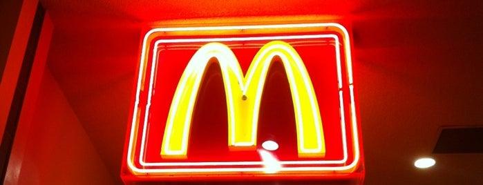 McDonald's is one of Las Vegas.