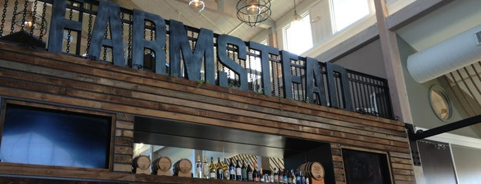 Farmstead Grill is one of Locais curtidos por Krissy.