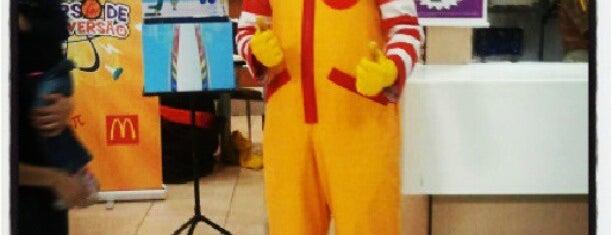 McDonald's is one of Vinicius : понравившиеся места.