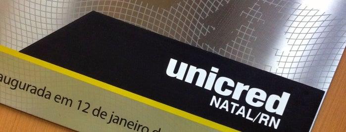 Unicred Natal is one of ATM - Onde encontrar caixas eletrônicos.