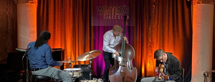 Winter's Jazz Club is one of Lugares favoritos de Christopher.