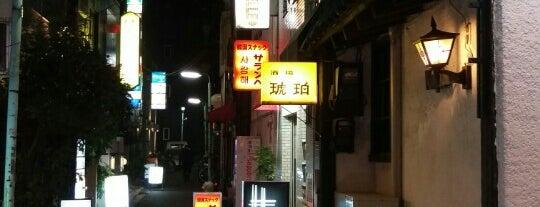琥珀 is one of Cool Tokyo Bars.