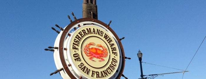 Fisherman's Wharf is one of Lieux qui ont plu à David.