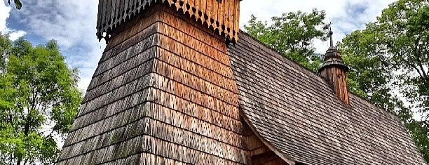 Kościół Michała Archanioła is one of UNESCO World Heritage Sites in Eastern Europe.