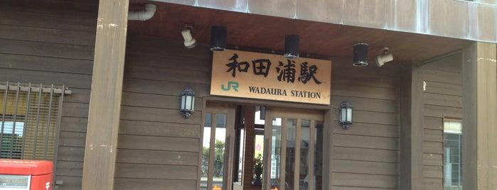 Wadaura Station is one of JR 키타칸토지방역 (JR 北関東地方の駅).