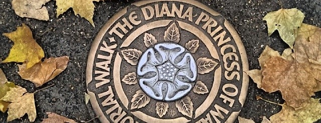 Diana Princess of Wales Memorial Walk is one of Volta ao Mundo oneworld: Londres.