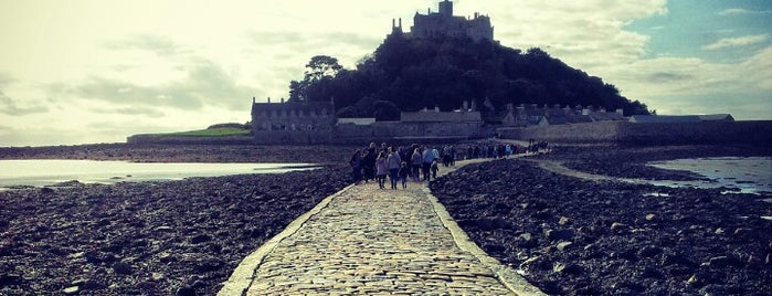 St Michael's Mount is one of Cornwall.