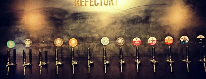 Northern Monk Refectory is one of Beer / Ratebeer's Top 100 Brewers [2019].