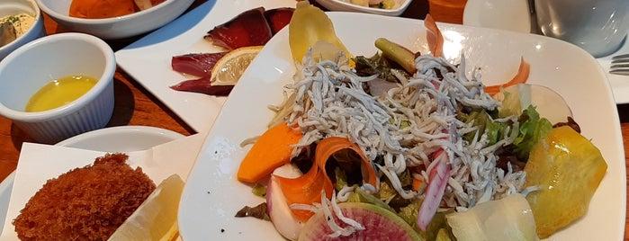 魚とワイン はなたれ The Fish And Oysters is one of daqlaさんのお気に入りスポット.
