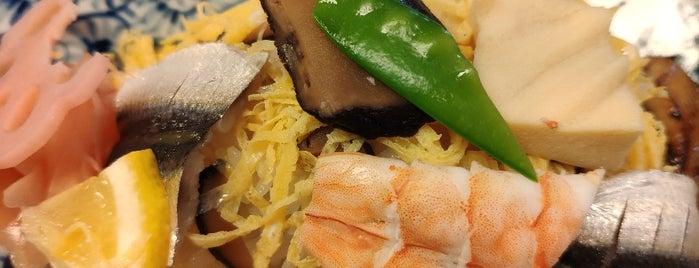 寿司 和食 しば田 is one of daqlaさんのお気に入りスポット.