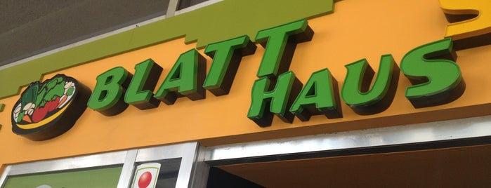 Blatt Salat Haus Bosques is one of Heidiさんの保存済みスポット.