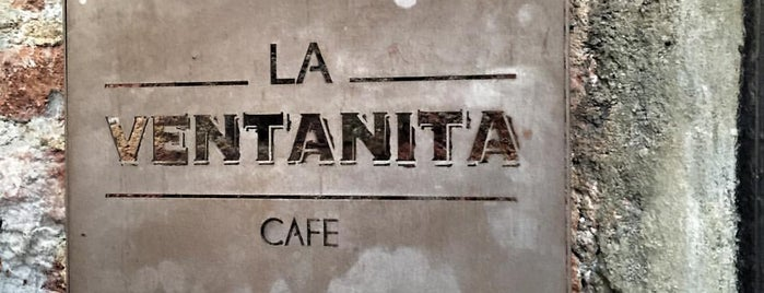 La Ventanita is one of Café / Té & Pan.