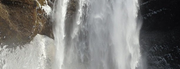 Skógafoss is one of Iceland.