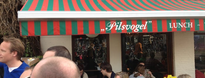 De Pilsvogel is one of Amsterdam koffie/lunch.