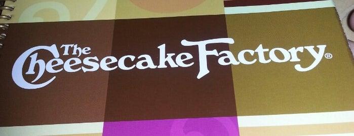 The Cheesecake Factory is one of Abu Dhabi & Dubai, United Arab emirates.
