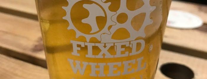 Fixed Wheel Brewery is one of Orte, die Carl gefallen.