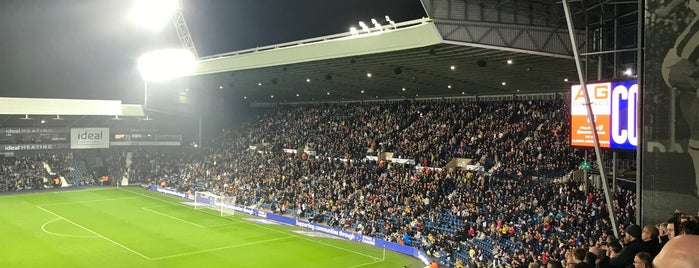 The Hawthorns is one of EPL 2015/16 Stadium.