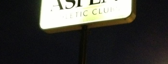 Aspen Athletic Club is one of Ryan 님이 좋아한 장소.