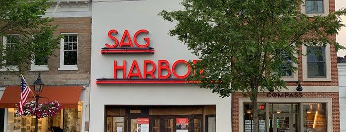 Sag Harbor Cinema is one of Locais curtidos por Stephan.