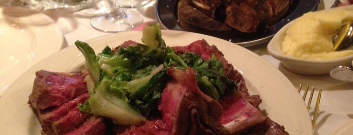 Keens Steakhouse is one of #PaunchPals wanna eat there.