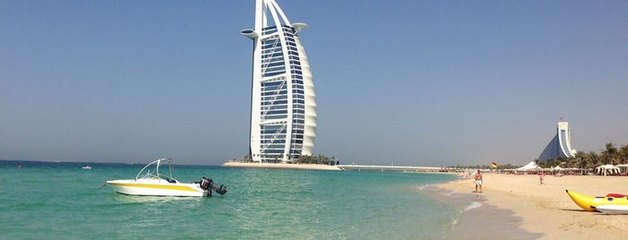 Jumeirah Beach is one of DXB.