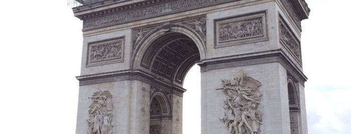 Arc de Triomphe de l'Étoile is one of The Summer of 2014.