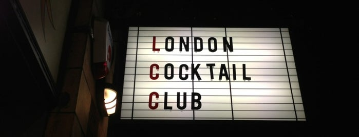 London Cocktail Club is one of 1001 reasons to <3 London.