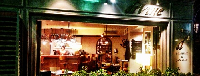 Divine Brasserie & Jazz Club is one of Lugares favoritos de Duygu.