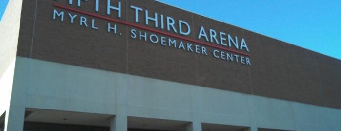 Fifth Third Arena | Myrl H Shoemaker Center is one of NCAA Division I Basketball Arenas/Venues.