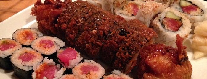 Yu-Mi Sushi Japanese Restaurant is one of Tempat yang Disimpan Bennett.