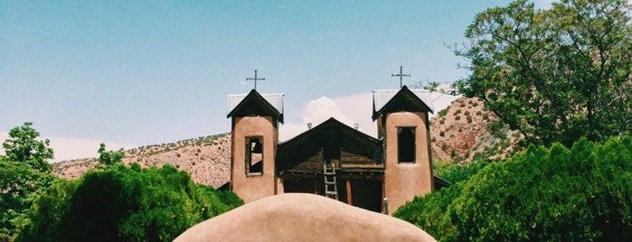 El Santuario de Chimayo is one of new mexico.