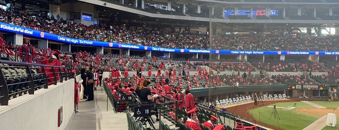 Globe Life Field is one of MLB Stadiums.
