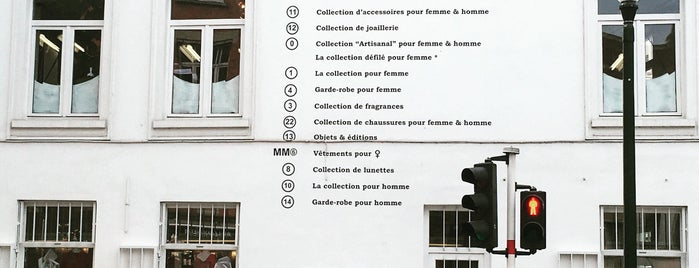Maison Margiela is one of Brussels.