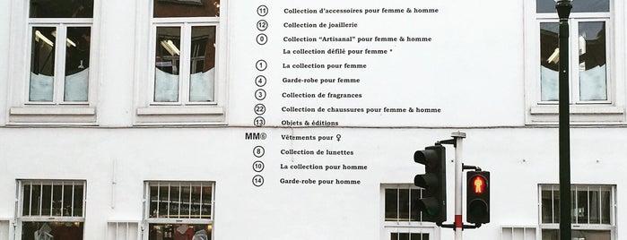 Maison Margiela is one of Bruxelles.