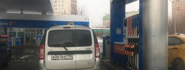 Газпромнефть АЗС № 100 is one of Dima'nın Beğendiği Mekanlar.