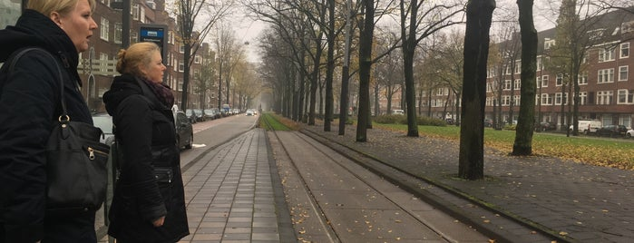 Tramhalte Scheldestraat is one of Alle tramhaltes van Amsterdam.