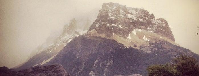 El Chaltén is one of Patagonia (AR).