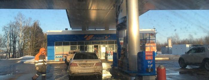 Газпромнефть АЗС № 12 is one of Svetlana : понравившиеся места.