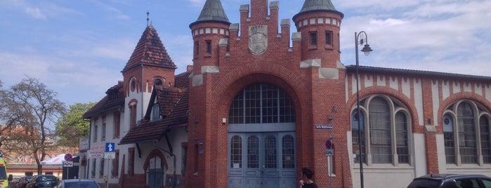 Hala targowa is one of Bydgoszcz (Bromberg) / Polska.